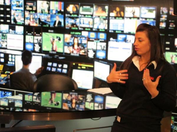 CNN mock studio